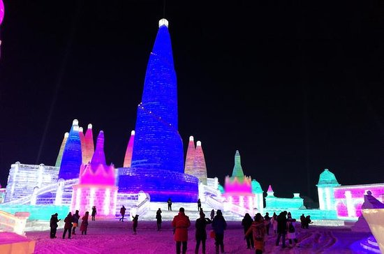 Private Ice Festival Night Tour with...