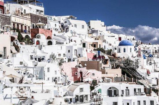 Meio Dia Santorini Destaques Tour...