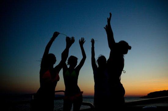 Mystic Sunset Night cruise all along the Athenian Riviera