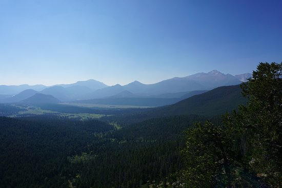 Trail Ridge Road: Many Parks Curve Overlook