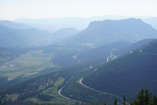 Trail Ridge Road: windy road