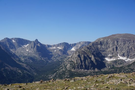 Trail Ridge Road: Forest Canyon