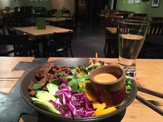 Crowsnest Pass, Canada: Korean Bulgogi Bowl