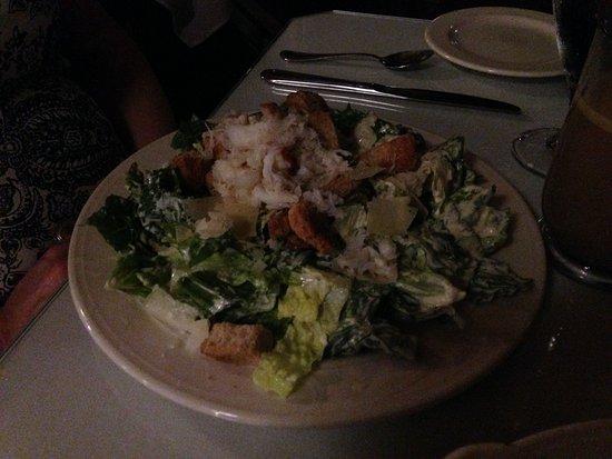 Roosevelt Dining Room: Crab caesar salad
