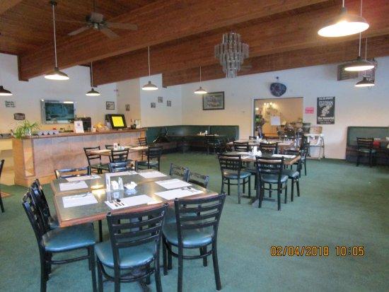 Quinault Internet Cafe: Interior