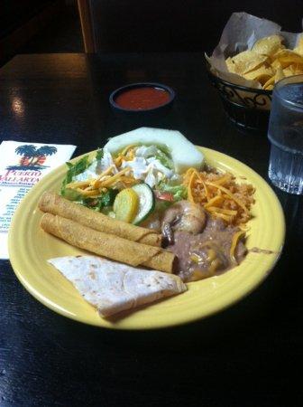Kingston, WA: Plate from lunch buffet