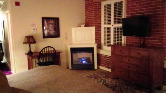 Claremont, NH: Fireplace
