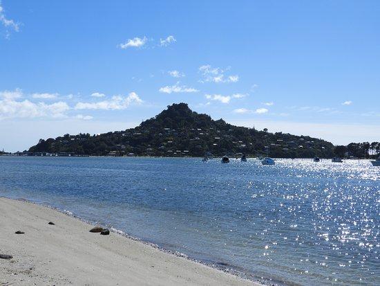 Beachside Resort Whitianga: View from Whitianga Beach