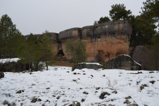 Valdecabras, Spanje: Parte del recorrido