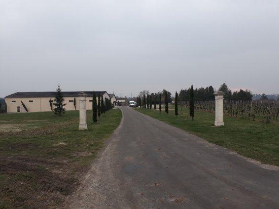 Charente, France : Route de la propriété
