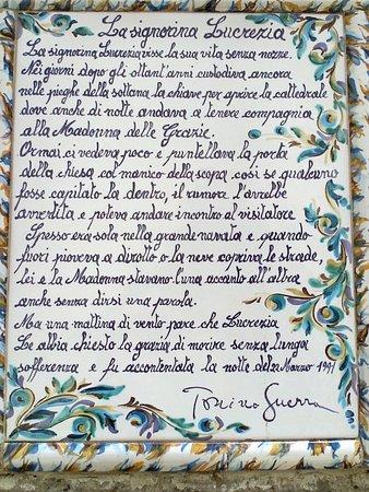 Pennabilli, Italien: la signorina Lucrezia