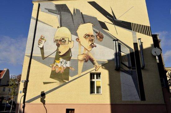 """SamookreSlenie"" Mural"