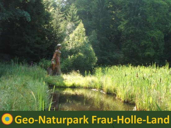 Eschwege, Duitsland: Der sagenhafte Frau-Holle-Teich auf dem Hohen Meißner(c)Marco Lenarduzzi