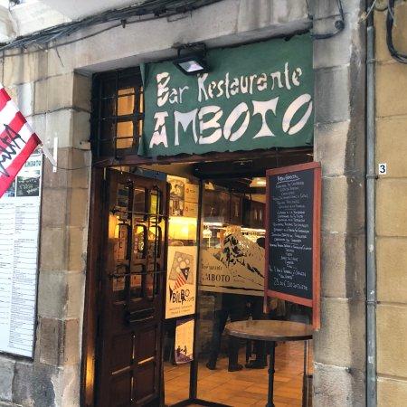 Amboto bilbao omd men om restauranger tripadvisor for Calle jardines bilbao