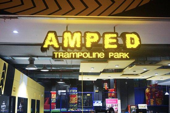 AMPED Trampoline Park Surabaya
