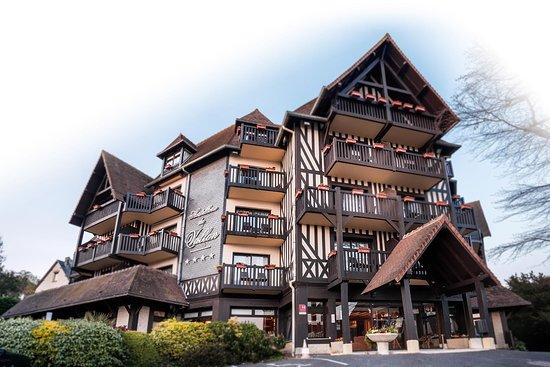 best western plus hostellerie du vallon trouvillesurmer