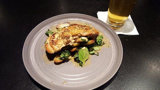 Amherst, MA: Cast Iron Boneless Half Chicken