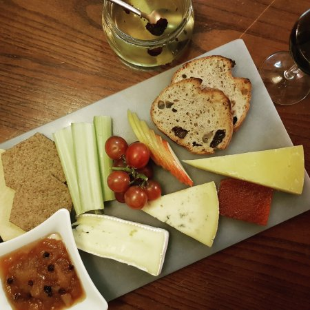 The Windmill: new cheese board