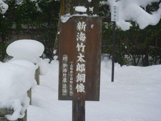 Shinkai Taketaro Statue