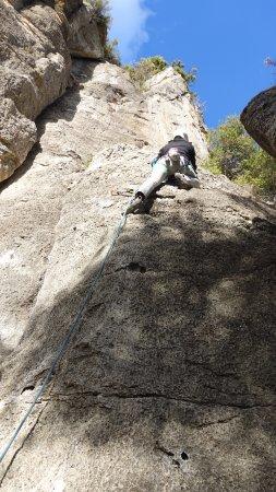 Climbing in Siurana