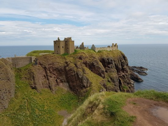 Stonehaven, UK: Medieval Fortress upon a Rocky Headland