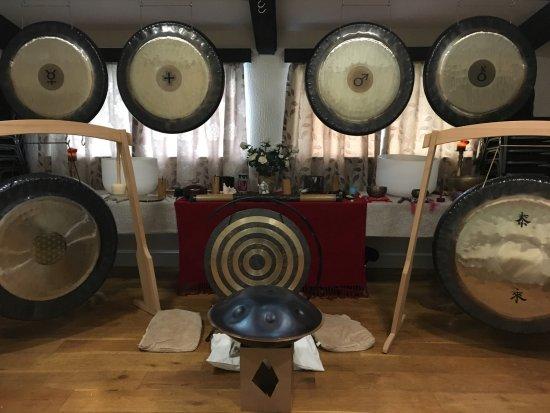Aberporth, UK: Sound Healing Studio