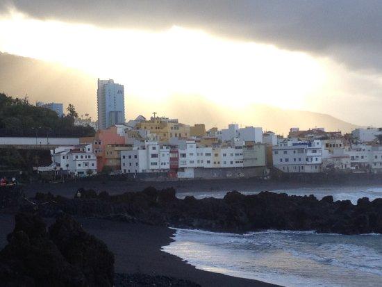 Sol Puerto de la Cruz Tenerife: вид из окна на юго-запад