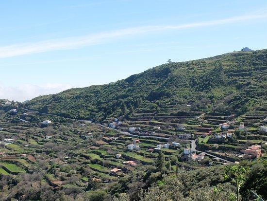 Cruz de Tejeda, Spain: Vista de parcelas en el centro de Gran Canaria