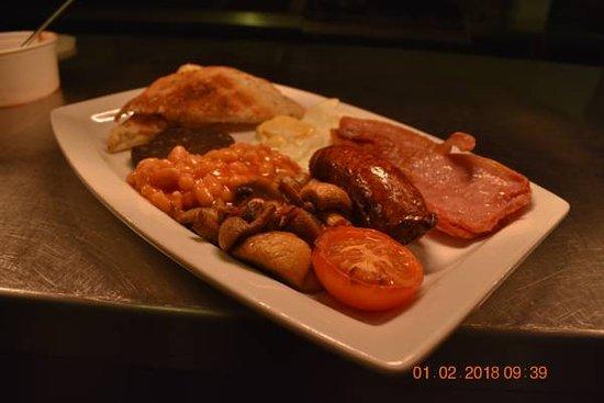 Milton, UK: Delicious Breakfast