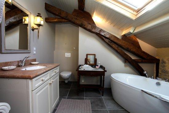 Domaine de Labarthe : CHAMBRE PREMIER - salle de bain