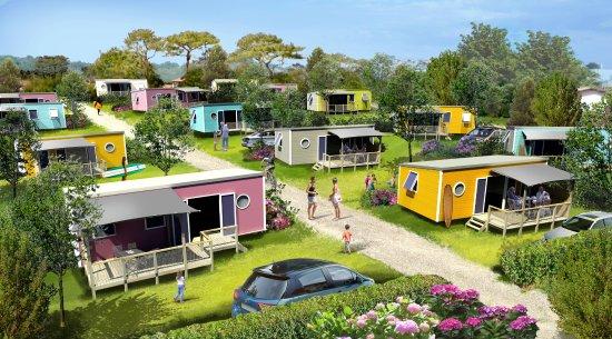 Camping OYAM: Quartier Premium 2018