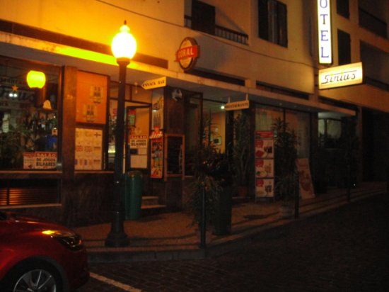 Hotel Sirius: Good food and reasonable priced in old town Funchal.
