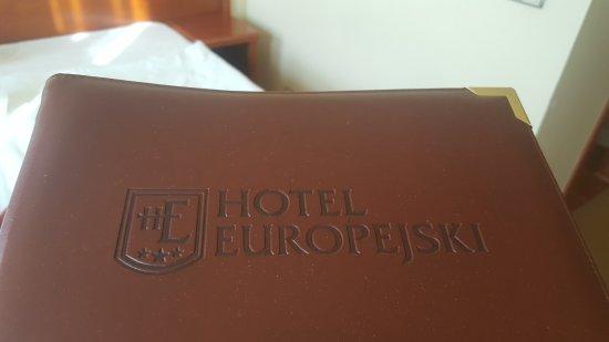 Europejski Hotel: rozpiska hotelowa