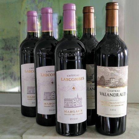 Dorset, VT: Bordeaux bottles coming of age.