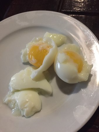 Paraiso, République dominicaine : This is how a soft boiled egg was brought from the kitchen