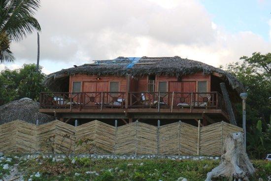 Paraiso, République dominicaine : Nice roof...