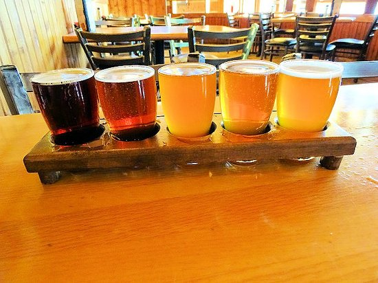 Jeffersonville, IN: out flight of beer