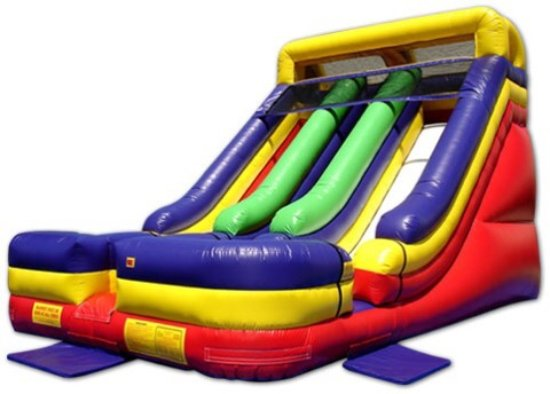 Jumping Jack's Inflatables & Party Rentals: Jumping Jack's Dual Lane Slide