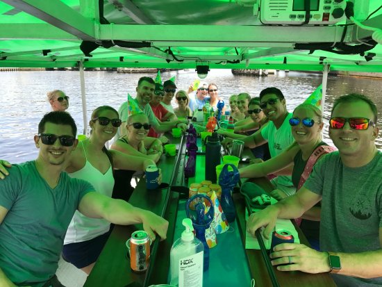 Kraken CycleBoats: Birthday Party!