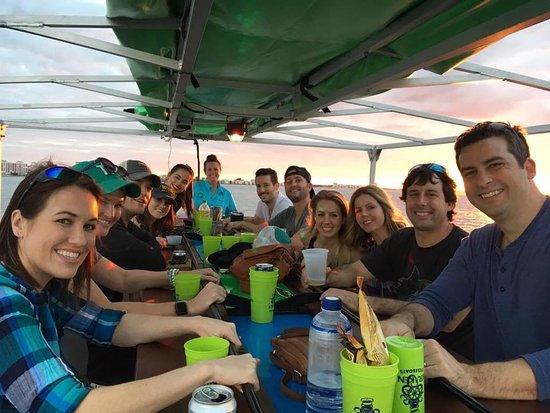 Kraken CycleBoats: Sunset Cruise