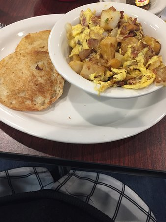 Haverhill, Nueva Hampshire: Breakfast bowl and grilled english