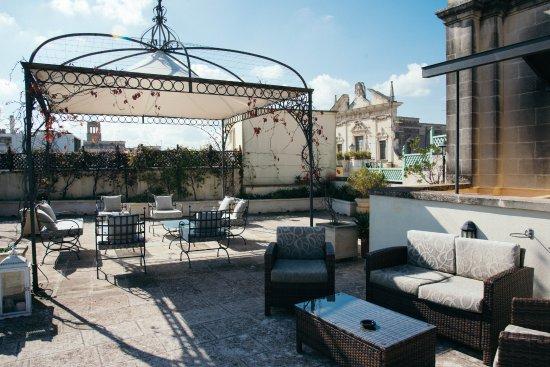 Terrazza Santa Croce Picture Of Patria Palace Hotel Lecce