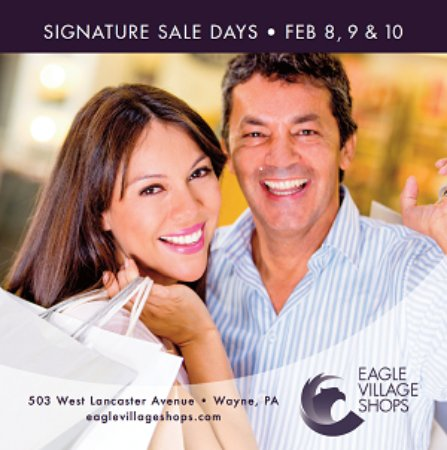 Wayne, PA: Signature Sales Thurs-Sat, Feb 8-10. Don't miss it!