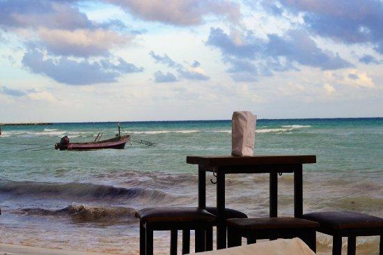 Zenzi Beach Bar & Restaurant: Arrière-plan magnifique