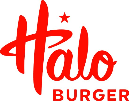 ‪‪Burton‬, ميتشجان: Halo Burger logo‬