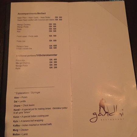 Gandhi Indian Restaurant Reykjavik