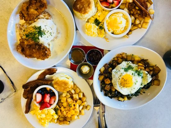 @ The Corner: Breakfast options at At The Corner
