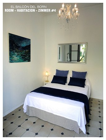 El Balcon del Born: Room #4: DobleBed + Balcony and Shared Bathroom =90€ per night