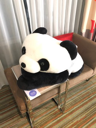 Hotel Novotel Taipei Taoyuan International Airport: Hello Panda!