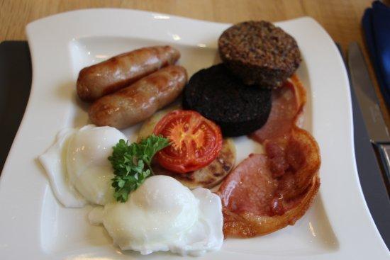 Barcaldine, UK: full scottish breakfast